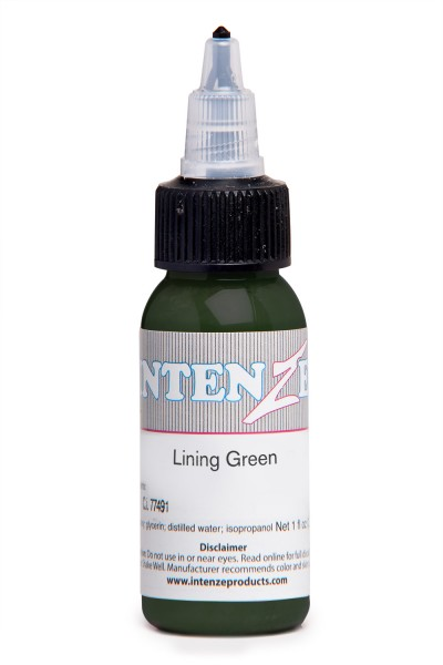 Intenze Ink Lining Color Green