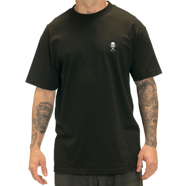 Sullen Clothing - STANDARD ISSUE BLK/WHT TEE