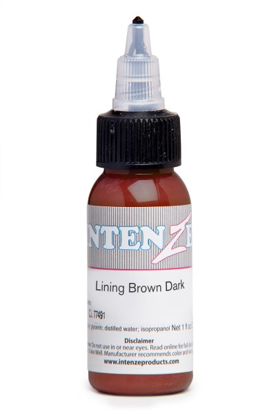 Intenze Ink Lining Color Brown Dark