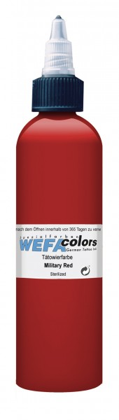 WEFA Colors Military Red