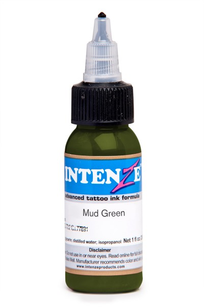 Intenze Ink Mud Green