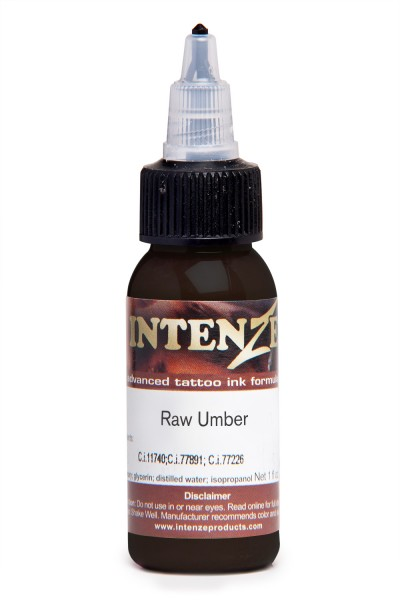 Intenze Ink Mike Demasi's Raw Umber