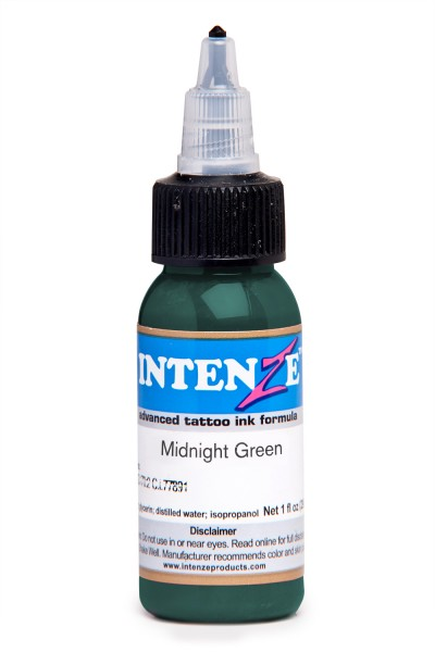 Intenze Ink Midnight Green
