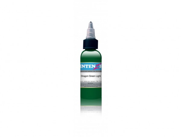 Intenze Ink Dragon Color - Green Light