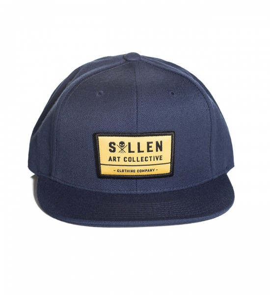 Sullen Clothing - Rusted Snapback Navy