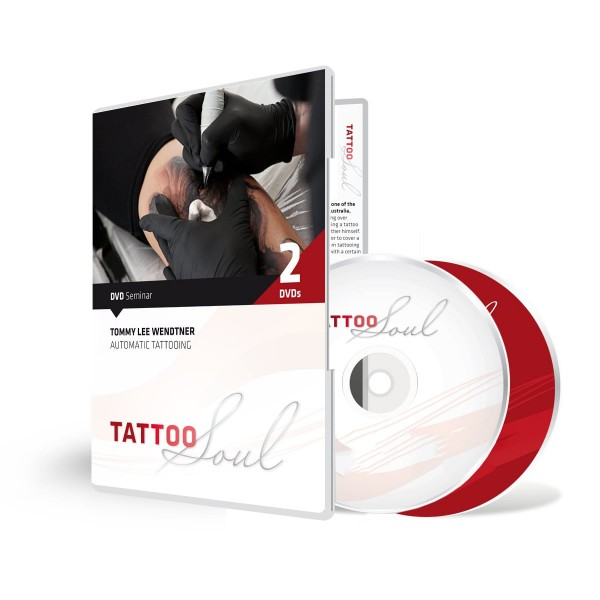 TattooSoul - Tommy Lee Wendtner Automatic Tattooing - Doppel DVD