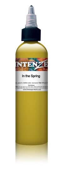 Intenze Ink Boris Colors In The Spring