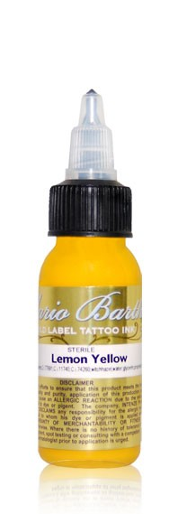 Intenze Ink - Mario Barth Gold Label -  Lemon Yellow