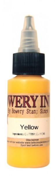 Intenze Ink - Bowery Ink Yellow