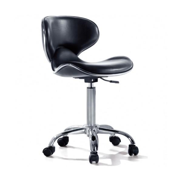 Tattoomöbel - Dreh-Stuhl mit Rückenlehne - Bucket