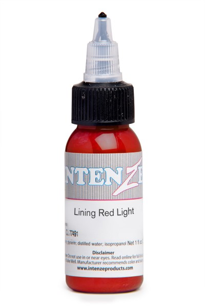 Intenze Ink Lining Color Red Light