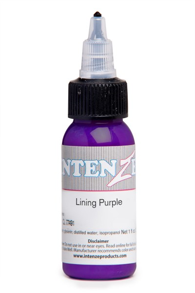 Intenze Ink Lining Color Purple