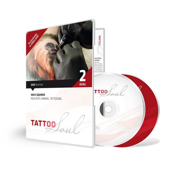 TattooSoul - Mick Squires - Doppel DVD