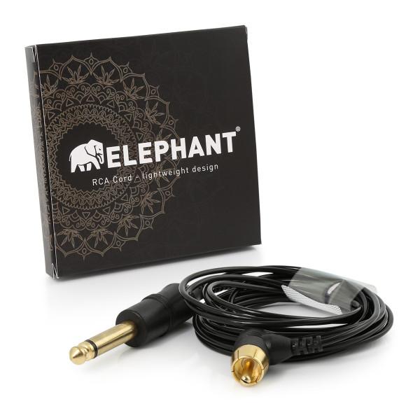 Elephant - Lightweight Cinch/RCA Kabel - abgewinkelt