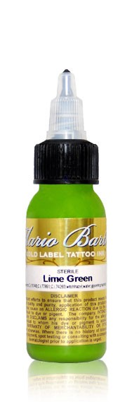 Intenze Ink - Mario Barth Gold Label -  Lime Green