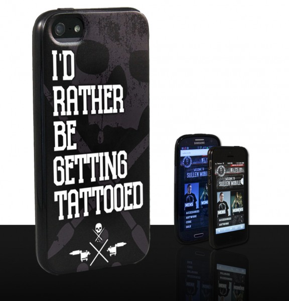 Sullen Clothing - PHONE CASE RATHER BE GETTING TATTOOED GS4