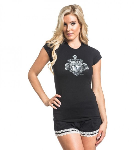Sullen Clothing - SA Royal Heart Blk