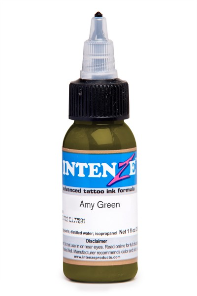 Intenze Ink Army Green