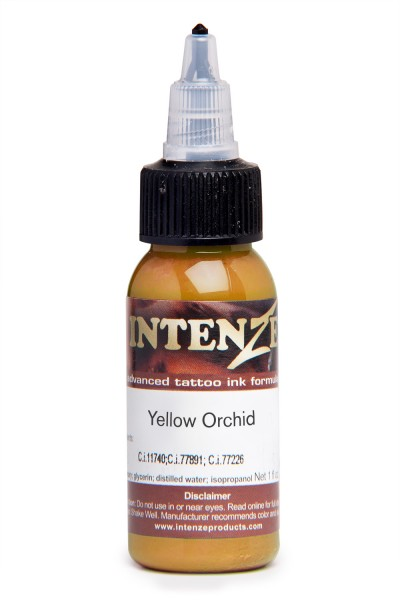 Intenze Ink Mike Demasi's Yellow Orchid