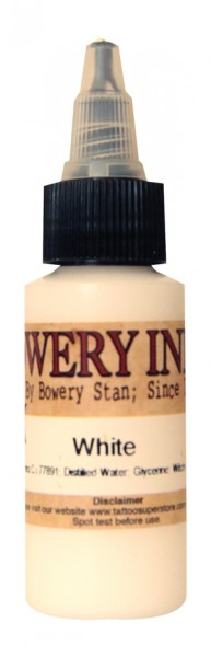 Intenze Ink - Bowery Ink White