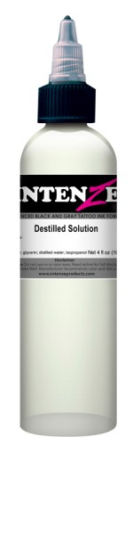 Intenze Ink Destilled Solution