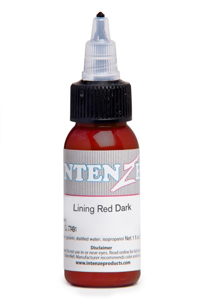 Intenze Ink Lining Color Red Dark